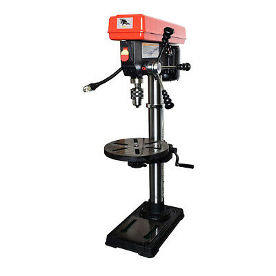 Toolots 13-Inch 16 Speed Bench Drill Press with Light and Laser UL Listed