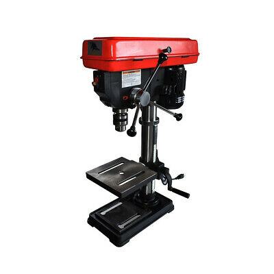 Toolots 10-Inch 5 Speed Bench Drill Press with Light