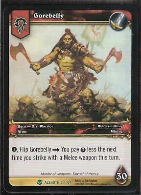 Heroes of Azeroth WOW World of Warcraft GRACCUS-Foil