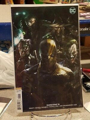 DEATHSTROKE #36 Mattina Variant Hot Cover B Sold Out