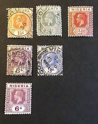 1921-33 Nigeria 2 Mint HOG 4 UHNG Great Collection L154-53