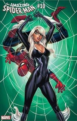 Amazing Spider-Man #10 Variant J Scott Campbell Black Cat 11/28/2018 Presale