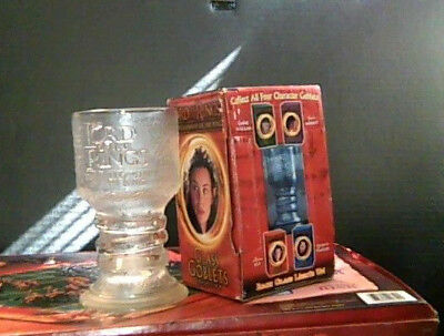 Arwen the Elf Lord of The Rings Lighted Glass Goblet New w/ box wear, see pic