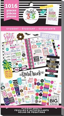 Happy Planner Value Pack Stickers - Sweet Life (Student) MAMBI