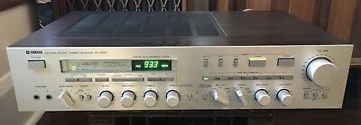 Yamaha R-1000 Natural Sound Stereo Receiver Tested Powers On Works AS IS