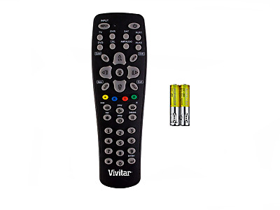 VIVITAR New Small Universal Remote Control Up To 8 Entertainment Devices 8 In 1