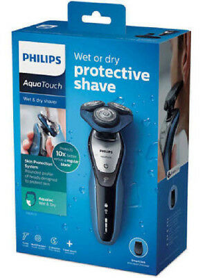 GENUINE Phillips Aqua Touch Wet Or Dry Shaver S5620/41