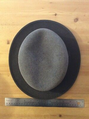 Vintage Imperial Stetson Fedora Grey Made in Canada SIZE 3/8 *No Tax*