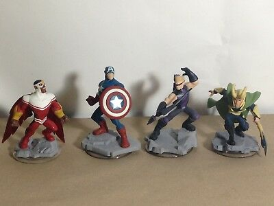 Disney Infinity (4 Figures) For Marvel 2.0 Playset PS3 PS4 Xbox 360 One Wii U #3