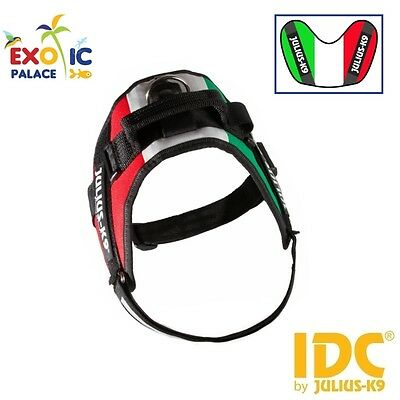 Julius-K9 Idc Powerharness Italy Flag Harness Italy Flag For Dog Nylon