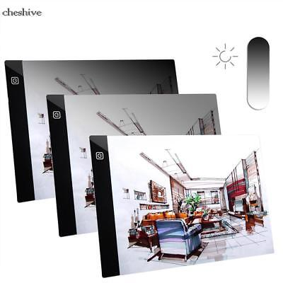 LED Tracing Light Box Board A4 Drawing Copy Pad Table Stencil Diamond Painting