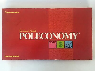 Poleconomy The Game of Australia by John Sands