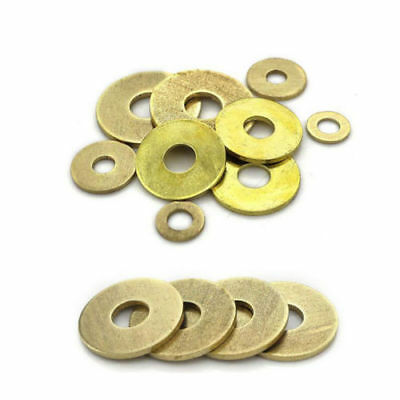 M2~M20 High Quality New Penny Repair Washers Washers Metric  Brass Flat Washers