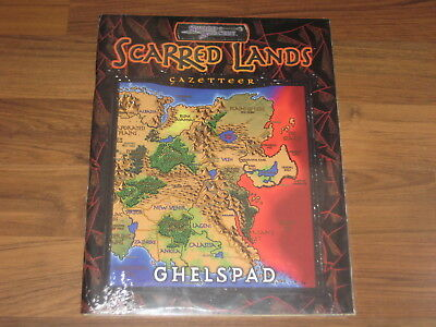 D&D 3.5 Scarred Lands Gazetteer Ghelspad Sword & Sorcery 2001  New Sealed