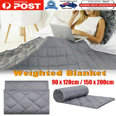2.3/9KG Cotton Bedding Weighted Blanket Heavy Gravity Deep Relax Sleeping Adult