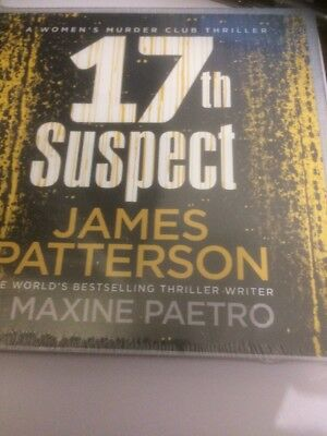 17th Suspect (Women's Murder Club 17) by James Patterson 9781786141330