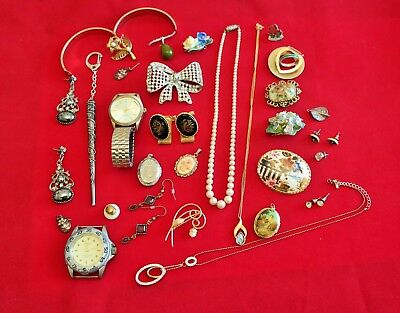 Job Lot Large Selection of Mixed Costume Jewellery