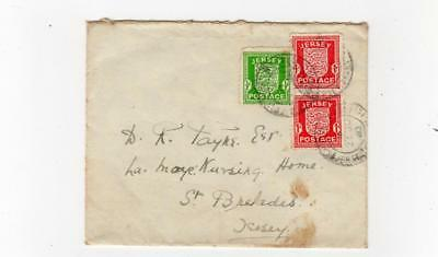 JERSEY: 1943 occupation issue cover (SH136)
