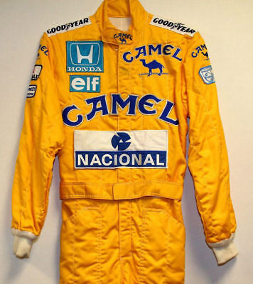 Ayrton senna Camel Replica Embroidered patches suit6