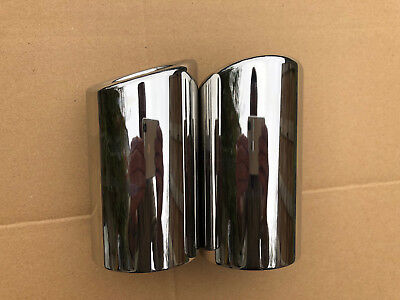 BMW 325i 328i E90 F35 F30 Stainless Exhaust Tail Pipe Tip Finishers UK SELLER!