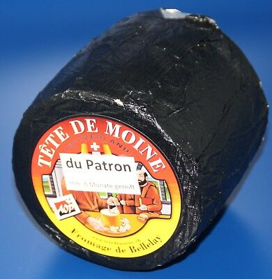 ca.800g PATRON 6 MONATE RESERVE TETE MOINE GIROLLE KÄSE CHEESE FROMAGE FORMAGGIO