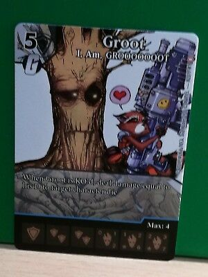 Dice Masters Promo Rocket and Groot - Groot