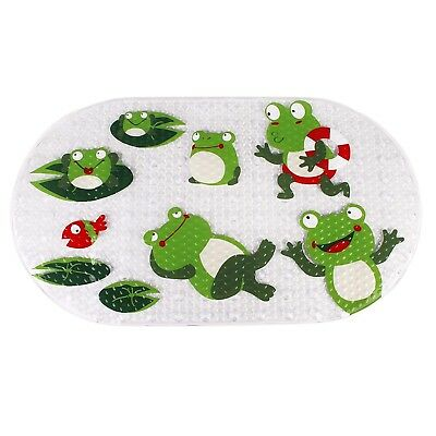 Original Bath tub and Shower Mat for Kids Anti Bacterial,Phthalate Free,Lat S6R5