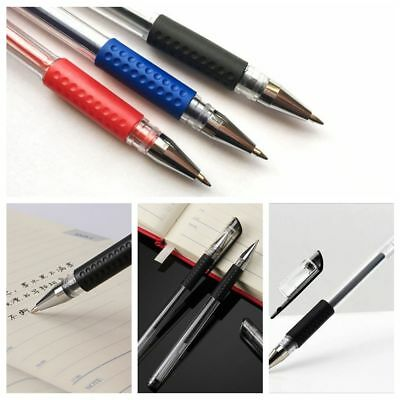 New Stationary Plastic Student Black Ink Chirography Gel Metal Pen Writing Tool