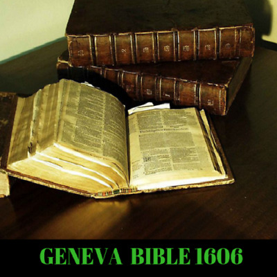 Geneva Bible 1606 Edition - Bonus The Coverdale Bible 1538 Rare Books - Data DVD