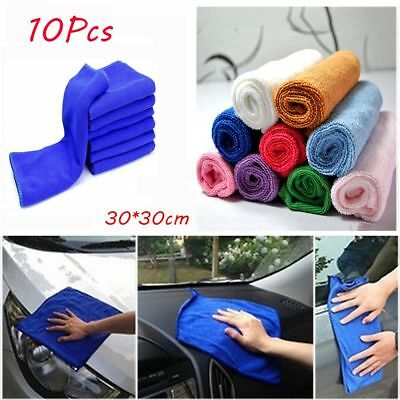 Soft New Car Wash Towel Cleaning Duster Microfiber Auto Care Detailing