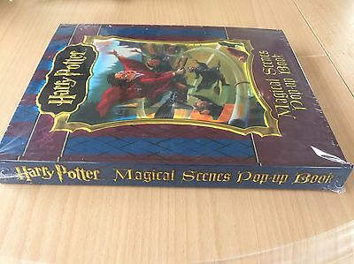 Harry Potter Magical Scene Pop Up Book New Sealed