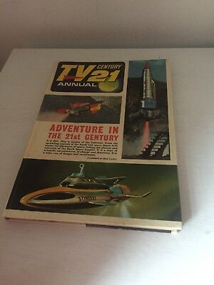 Vintage 1967 TV 21 Century Annual - Gerry Anderson