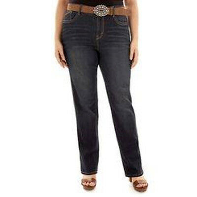 NEW WallFlower Legendary Belted SLIM BOOTCUT Jeans 22 in Shay Whiskered Wash