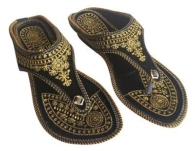 a729f1801c6f40 Us Punjabi Jutti Indian Shoes Flat Flop Flop Khussa Shoes Jaipuri Sandals  Dd498
