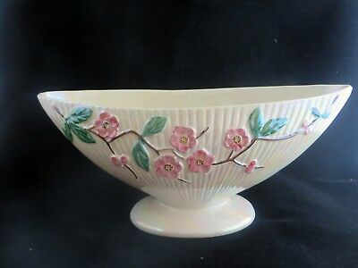Vintage English Maling Lustre Ware Hand Painted Bowl Sunderland 1940's