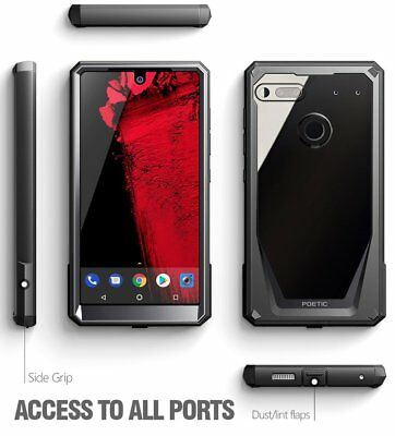 "Poetic Guardian ""Rugged Heavy Duty"" Case For Essential Phone PH-1 Black"