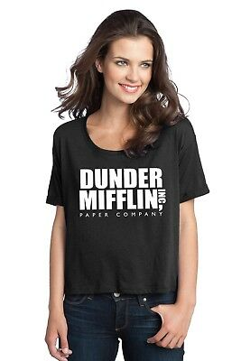 The Office Shirt Dunder Mifflin Paper Co Inc Ladies Boxy T shirt