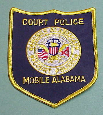 Mobile  Alabama  Court  ( Corrections )  Police Patch   Free Shipping!!!
