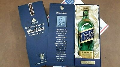 Johnny Walker Blue Label 750ml Gift Box With Sleeve
