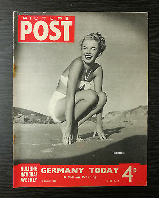 Picture Post Magazine feat Marilyn Monroe, 13 August 1949