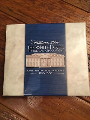 White House Christmas 2000 Ornament - Free Shipping