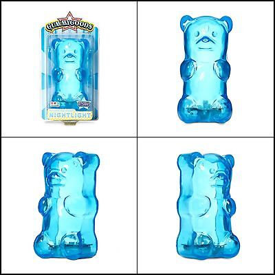 Gummy Bear Nightlight Multicolor & Portable Night Lamp Battery Powered for Kids