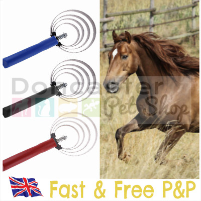 4 Cycle Stainless Steel Loop Shedding Blade / Sweat Scraper For Horses & Dogs UK