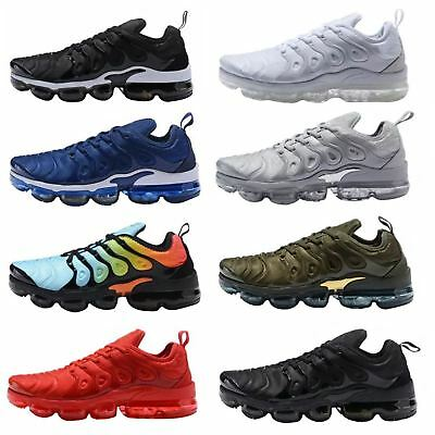 Mens Gym Trainers Sneaker Vapor Sole Sport Max Running Plus Shock Absorb Shoes