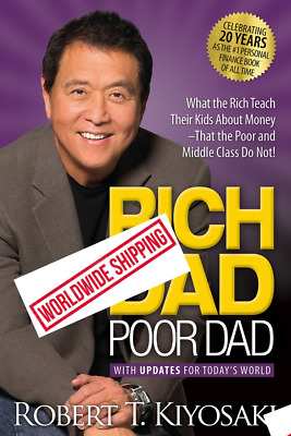 Rich Dad Poor Dad What the Rich Teach Their Kids about Money Paperback Book