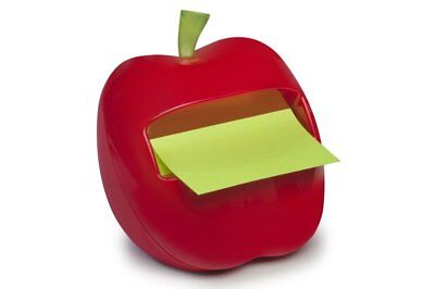 New Post-it Apple Pop-up Note Dispenser 76x76mm APL-330 Convenient One-handed