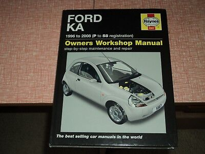 Haynes Ford Ka  P To  Reg Workshop Manual New Sealed