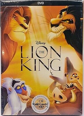 The Lion King - Walt Disney Signature Collection (DVD, 2017) NEW! Free Shipping!