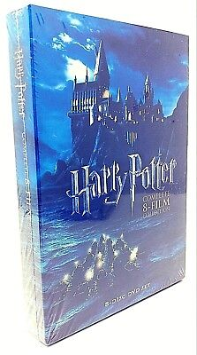 Harry Potter Complete 8-Film Collection (DVD, 2011, 8-Disc) NEW! Free Shipping!