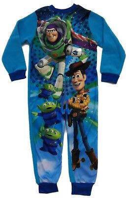Official Toy story All In One Fleece Boys Kids Childrens Character 2 3 4 5